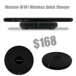 Maxtron w101 wireless QUICK charger