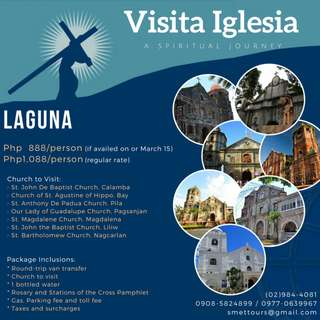 Laguna - Visita Iglesia