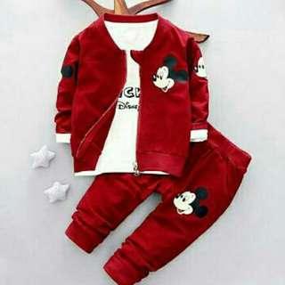 ST Disney Kid Merah