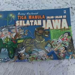 Tiga Manula Jalan2 ke Selatan Jawa