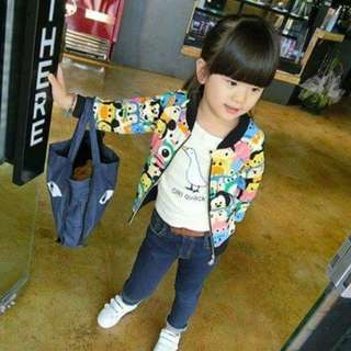 Jacket tsum tsum anak