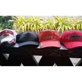 Authentic HATS/CAPS - 4 PIECES