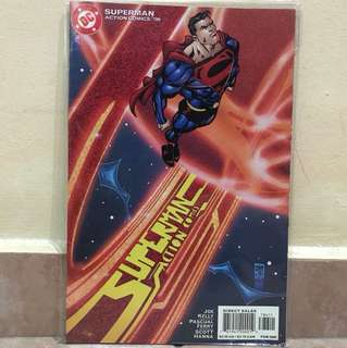 "Dc comic superman action ""786"