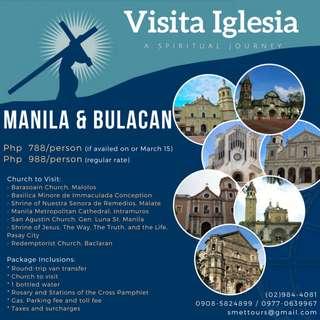 Manila + Bulucan - Visita Iglesia
