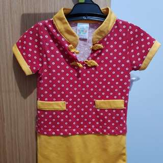 Chinese New Year costume for baby boy