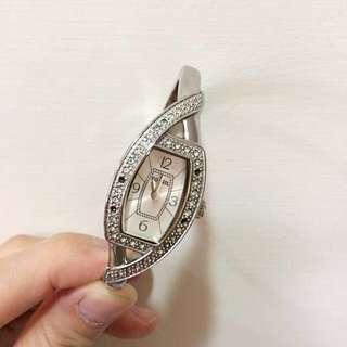 Fossil 女用手環手錶 飾品錶 扣式金屬錶
