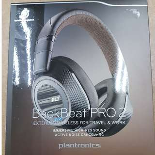 New Plantronics Backbeat Pro 2