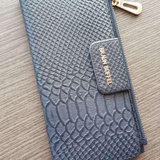 Braun Buffel Genuine Leather long wallet