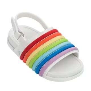 Mini Melissa Rainbow Sandals