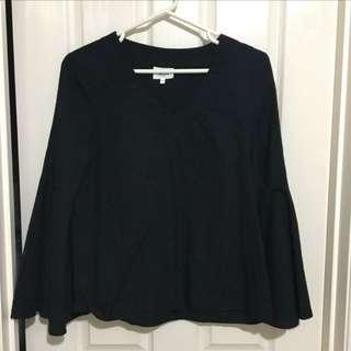 Seed bell sleeve shirt