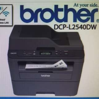 Brother DCP-L2540DW Wireless Monochrome  Multifunction Laser Printer Print scan copy Mono Laser Wifi