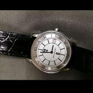Bvlgari 男女合用 薄身 單錶一隻