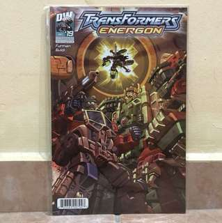 DW comic transformers energon jan #19