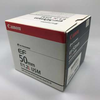 Canon 50mm f1.2