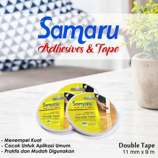 SAMARU TAPE - DOUBLE TAPE 11 mm - White