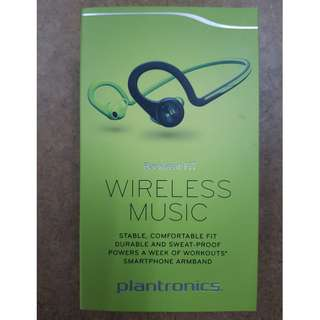 New Plantronics Backbeat Fit Green