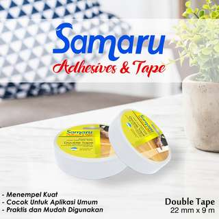 SAMARU TAPE - DOUBLE TAPE 22 mm - White