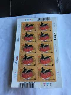 2014 Spore Year of the Horse Mint Stamps