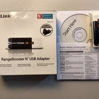 Dlink Wireless Adaptor DWA-140