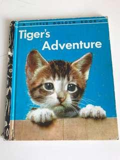 Tigers Adventure - Little Golden Book
