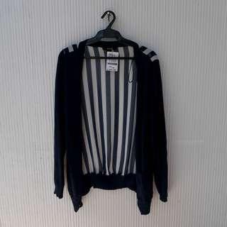 Forever 21 Stripe Cardi