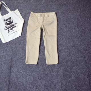 Uniqlo crop pants