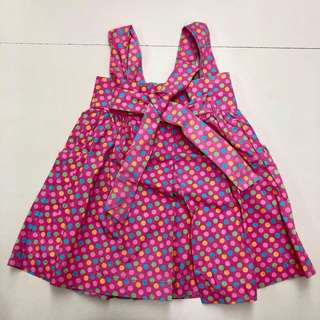 OshKosh pink polka dot dress