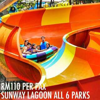 SUNWAY LAGOON ALL 6 PARKS ADMISSION TICKET