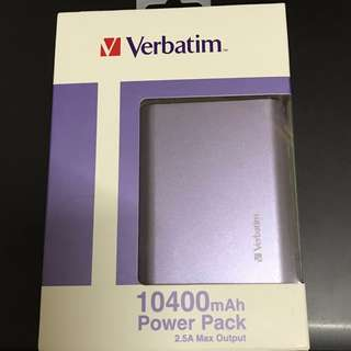 Verbatim 10400 mAh Power Bank
