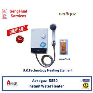 Aerogaz S850 water heater