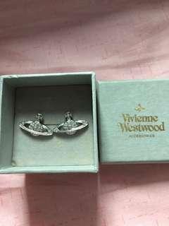 全新Vivienne Westwood 耳環一對