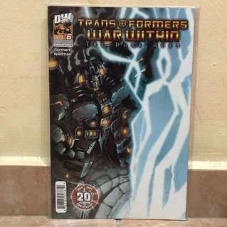 DW comic Transformer War Within The Dark Ages Apr #6