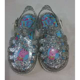 Jelly shoes Peppa pig