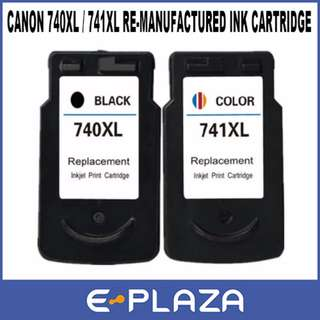 Canon Re-manufactured Ink Cartridges PG-740XL Black / CL-741XL Color