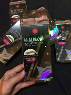 RealBrow 4D Tattoo Tint by Cathy Doll