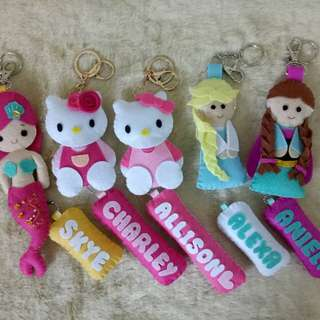 Made to order bag charm