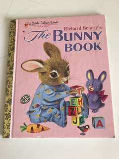 The Bunny Book - Richard Scarry - Little Golden Book