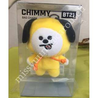 [READYSTOCK] BT21 CHIMMY BAG CHARMS
