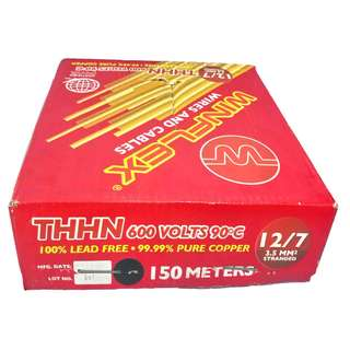 WINDFLEX THHN WIRE 3.5mm2 x 150mtrs 12/7 stranded