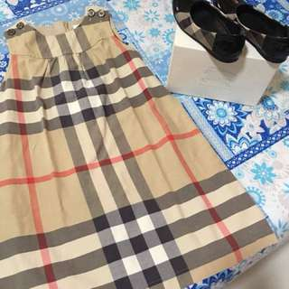 Guaranteed authentic burberry dress and shoes for kids