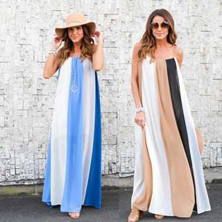 Summer maxi dress preorder