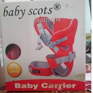 Gendongan Baby Scots Platinum