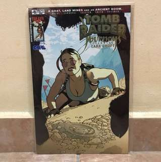 Top Cow comic tomb raider journey starring Lara Croft 4 June