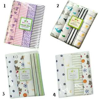 4 IN 1 COTTON BABY BLANKET (BIG)