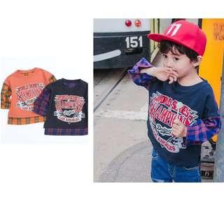 kids fashion boy sweat shirt
