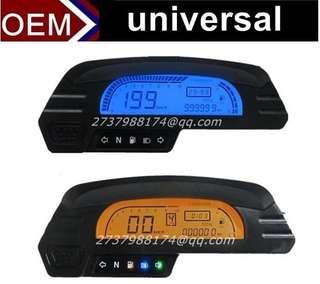 Universal adjustable speedometer