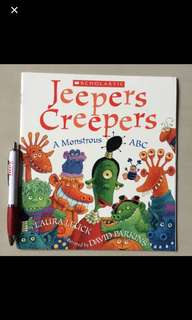 Scholastic Jeepers Creepers: A Monstrous ABC By Laura Leuck, illustrated by David Parkins