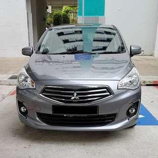 Installation Of Invisible Car Door Bumper Guard Protector Done On Mitsubishi Attrage