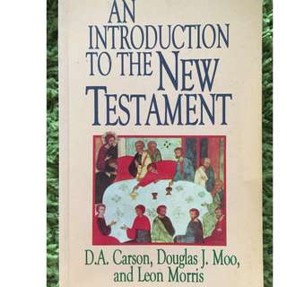 An Introduction to the New Testament Book by D. A. Carson
