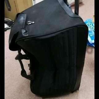 Cerruti 1881 旅行袋手拉箱 自製揹带可揹